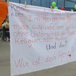 Bern West marschiert gegen den Rassismus