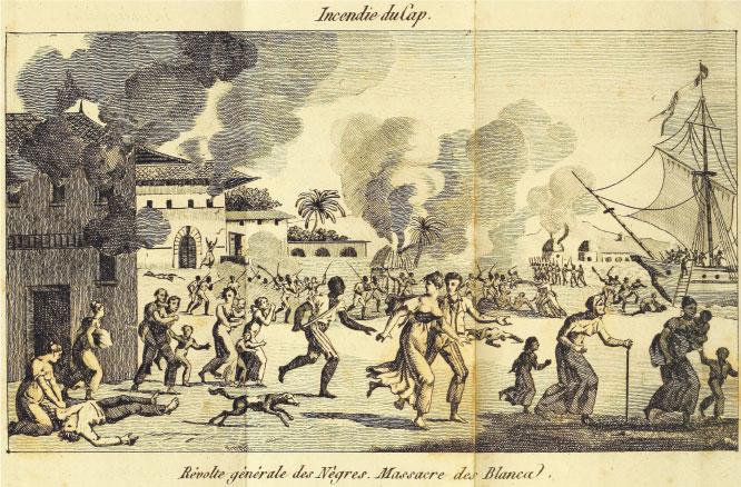 Bild: Historische Zeichnung der Revolte